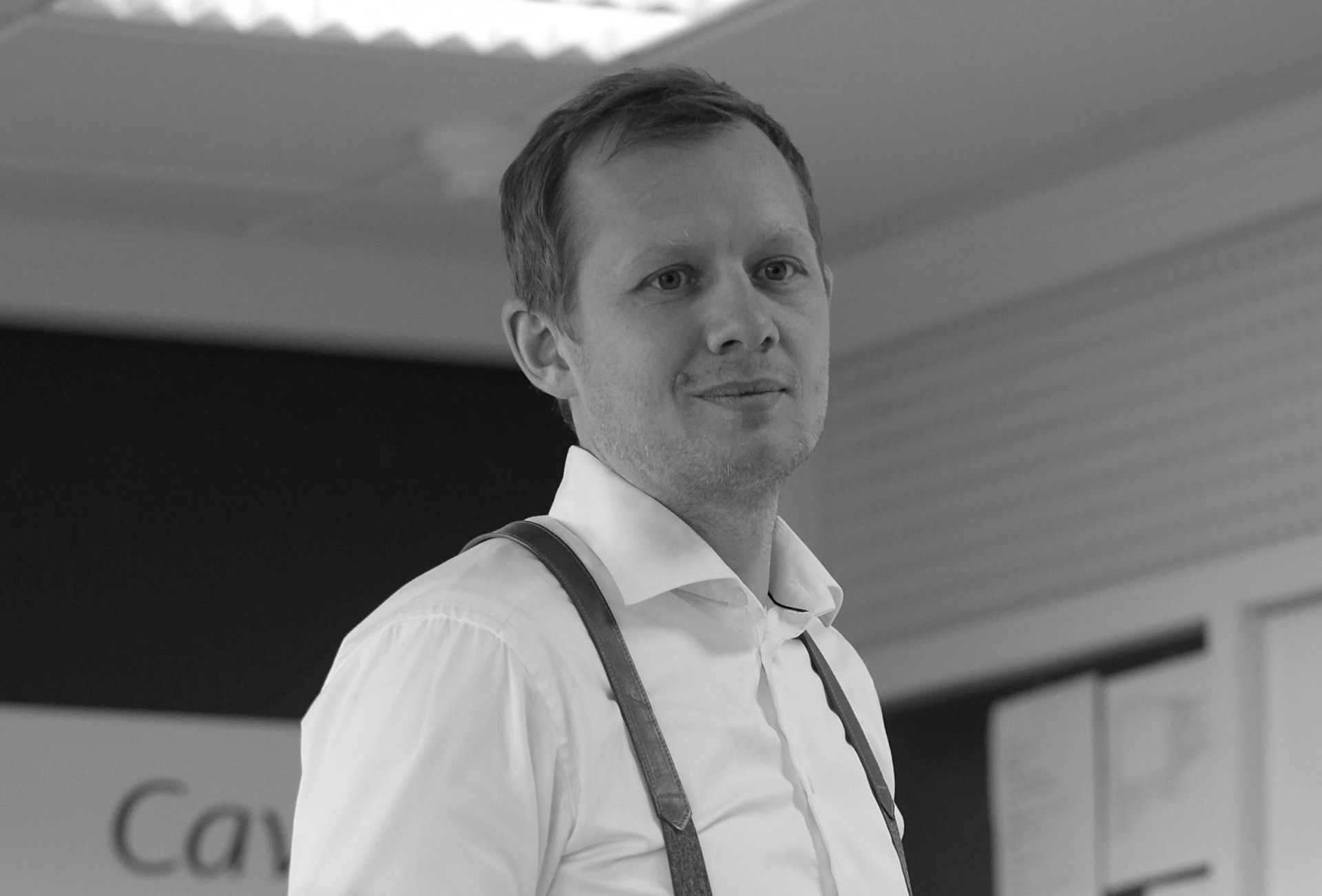CEO of Cavi-art Jens Christian Møller Jr